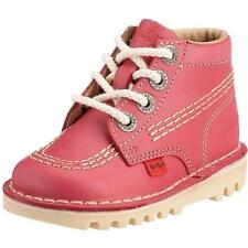Kickers Kick Hi Infant Pink Leather Boots
