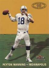 2000 Fleer Tradition Whole Ten Yards Peyton Manning Indianapolis Colts #6...