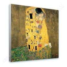 READY TO HANG CANVAS The Kiss Gustav Klimt Framed Paintings For Home Decor