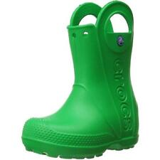 Crocs Handle It Rain Boot Grass Green Croslite Wellingtons Boots