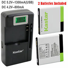 Kastar Battery Charger for Samsung Galaxy S S1 S I Vibrant T959 i9000 i9001