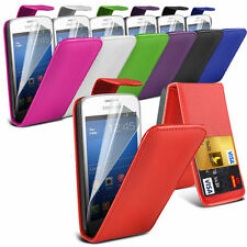 Leather Flip Mobile Phone Case Cover with Screen Protector For Apple Models