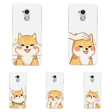 Case For ZTE Axon 7 Mini Blade V7 Lite A1 Soft TPU Phone Back Cover Shiba