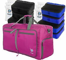 NEW Bago Long Travel Set -Lightweight Packable Duffle Bag with Brilliant Packing