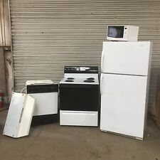 Magic Chef Kitchen Appliance LOT Refrigerator Stove Dishwasher 5 pc Commercial