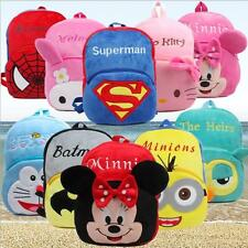 Kids Little Baby Children Girls Boys Backpacks Cartoon Schoolbag 3-6 years kids