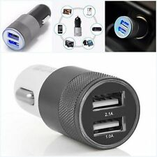 12V Car Dual 2 Port USB Socket Charger Adapter For iphone 7 5 6s Samsung HTC BL