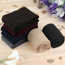 Women Warm Winter Thick Footless Tights Slim Stretch Pants AU