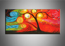 + framed Handmade Oil Painting Modern Canvas Picture Abstract Wall Art Hanging