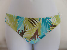NEW MONSOON ACCESSORIZE GREEN TROPICAL BIKINI BOTTOMS BRIEFS SWIMWEAR SIZE 6 10