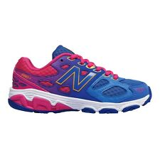 New Balance 680v3 GIRL'S RUNNING SHOES, BLUE/PINK *USA Brand - Size US 5, 6 Or 7