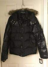 GUESS MENS QUILTED DOWN-FILL SNORKLE JACKET NEW SZ M