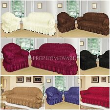 Luxury Large Jacquard Sofa Covers 1, 2 & 3 seater sofa / Alternate to Sofa Throw