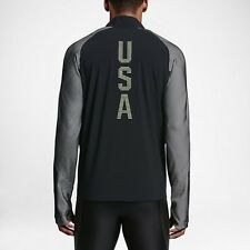 MSRP $250! Men's Nike Team USA Track & Field 2016 Olympic Trials Jacket USATF