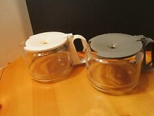 BLACK AND DECKER COFFEE MAKER REPLACEMENT 12 CUP CARAFE GRAY OR WHITE
