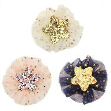 Girl Baby Toddler Lace Flower Bow Hair Clip Glitter Sequin Star Hair Accessories