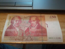 £50 Note Fifty Pound Note signed by Salmon and Cleland.