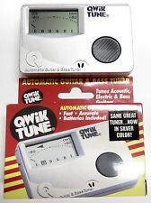 Qwik Tune QT15 Guitar and Bass Tuner - Silver or Red