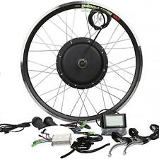 LCD Display + 48V1200W Hi Speed Electric Bicycle E Bike Hub Motor Conversion Kit