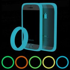 Universal Luminous Glow in Dark Silicone TPU Phone Covers Bumper Frame Case Skin