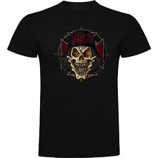 T-SHIRT SLAYER THRASH METAL PUNK MUSIC ROCK TSHIRT SIL Msl007