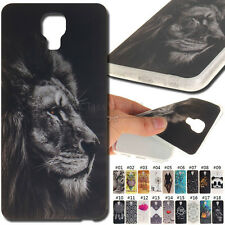For LG X screen/K500 Skin TPU Soft Rubber Back Fashion Cover Shell Silicone Case