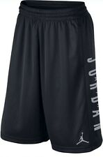NWT Nike Men Air Jordan Highlight Jumpman Basketball Shorts Black SMALL