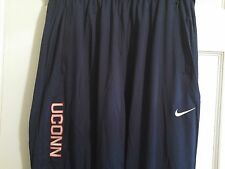 NEW Nike Dri-Fit Connecticut Huskies UCONN Basketball Training Pants MENS L XL