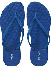 NWT Ladies FLIP FLOPS Old Navy Thong Sandals ROYAL BLUE Shoes SIZE 7,8,9,10,11