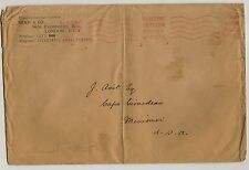 (1315) Postal cover Metered Postage 1934 St Albans Great Britain