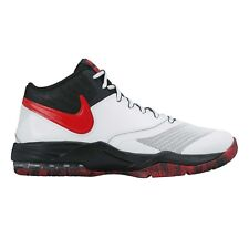 Nike Air Max Emergent MEN'S BASKETBALL SHOES, WHITE/BLACK/RED- US 10, 10.5 Or 11
