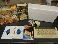 VINTAGE ACORN ELECTRON COMPUTER - TESTED AND WORKING - ORIGINAL BOX