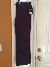 Dickies Mid-Rise Cargo Pant 854206 Eggplant SIZE XS FREE SHIPPING!