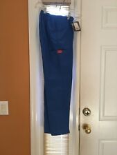 Dickies Mid-Rise Cargo Pant 54206P Royal SIZE SMALL PETITE FREE SHIPPING!