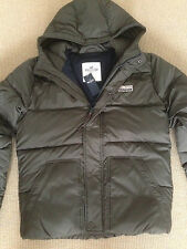 "HOLLISTER ""LEUCADIA"" PUFFER JACKET. OLIVE GREEN. BNWT. RRP £109"