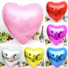 32inch Large Red Love Heart Foil Helium Balloons Wedding Party Ball Decoration F