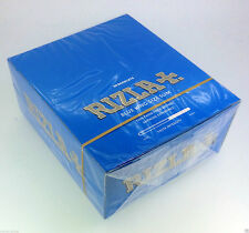 Rizla Tobacco King Size Slim Rolling Papers Blue - 1,5,10,50( FULL BOX) Booklets