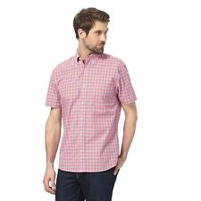 Maine New England Mens Big And Tall Red Checked Shirt From Debenhams