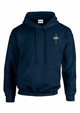 Royal Marines Commando Embroidered Hoodie - Navy