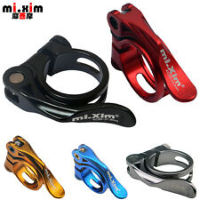 31.8/34.9MM  Road Bike MTB Bicycle Seat Post Clamp Quick Release Seatpost Clamp