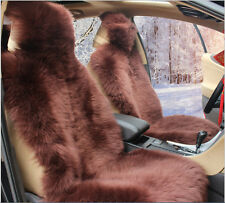 1pac Piece Genuine Sheepskin Car Seat Covers Real Fur Fits Most Cars