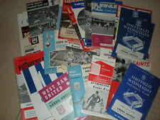LEEDS UNITED FOOTBALL PROGRAMMES AWAY GAMES 1966 - 1970 Select the One you Want