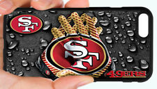 NEW SAN FRANCISCO 49ERS NFL FOOTBALL PHONE CASE FOR iPHONE 7 6S 6 PLUS 5 5S 5C 4