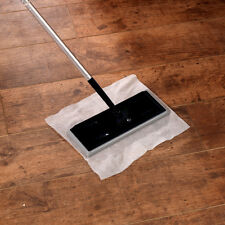 Electrostatic Mop Dust Magnet Broom / Floor Wiper Cleaner Includes 10 Cloths