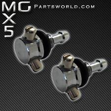 Brand New Pair of Chrome Twin Nozzle Washer Jets to fit Mazda MX5