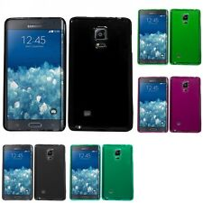 For Samsung Galaxy Note Edge Case TPU Rubber Crystal Skin Phone Slim-Grip Cover