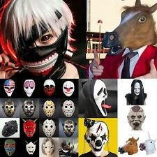 Hot New Halloween Cosplay Party Costume Horse Head Mask Masquerade Lot AUOC
