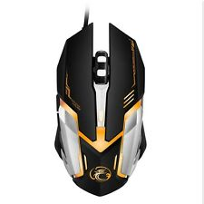 Professional Wired Gaming Mouse 4800DPI USB Optical Wired Mouse Mice 6 Buttons