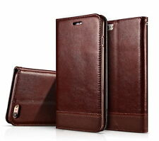 IPhone 7 Leather Magnetic Slim Flip Wallet Card Cover Case For iPhone 7 Plus