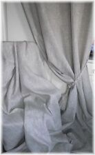 Made to Measure Blackout Curtains 100% Irish Linen Grey /Oatmeal